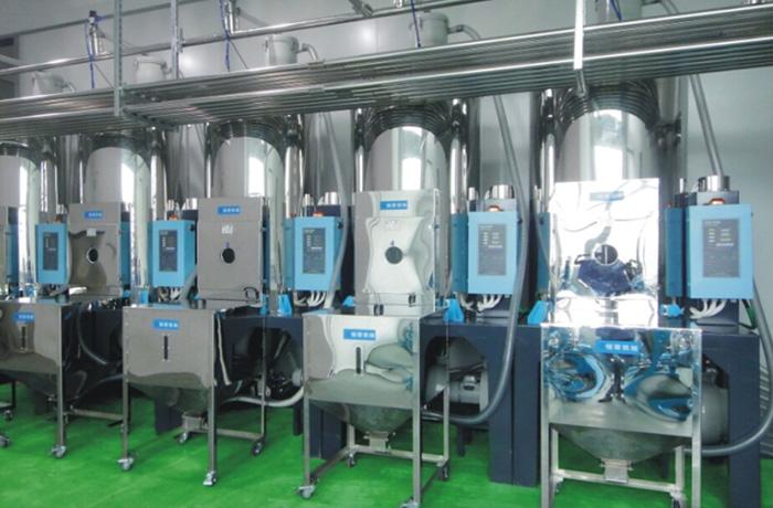 色母水口比例计量系统-中央供料计量系统、集中供料计量系统