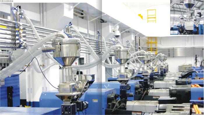 集中供料系统电子行业-自动上料系统、中央供料系统