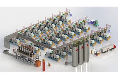 生产厂家使用中央供料系统能有哪些好处?